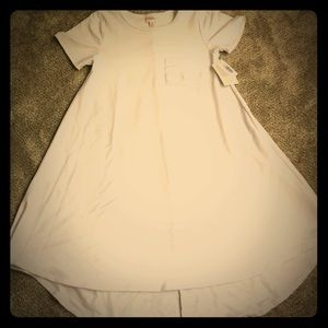 NWT pure white XS Carly